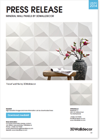 Press Release Mineral Wall Panels